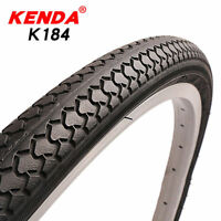 KENDA 1x Mountain Bike Road Bike Tire 20/24/26/27 inch*1 3/8 Tires Black Tire