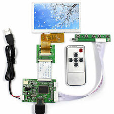 "HDMI LCD Controller Board 4.3"" 480X272 AT043TN24 LCD With Remote Control"