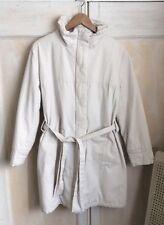 Sessun Off White Coat Size L