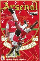 Football Programme>ARSENAL v COVENTRY CITY Aug 1997