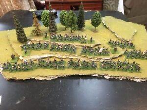 15mm painted metal ACW Civil War Union division, 252 figures