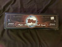 2003 Topps Baseball COMPLETE SET 720 cards Factory Sealed MINT Sharp LOOK !