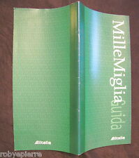 Depliant millemiglia Guida Alitalia 1998 regolamento 33 pagine in italiano