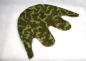 Reversible WWII USMC M1 Pacific Camo Helmet cover