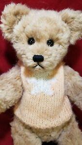 """Karla Singer """"Peggy"""" artist teddy bear 16""""  mohair silk alpaca 1992 OOAK"""