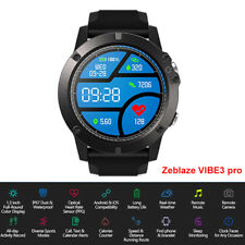 Zeblaze VIBE 3 Pro Smartwatch BT-4.0 Sports Heart Rate Monitor For IOS / Android
