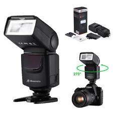 Flash Speedlite TTL ETTL For Canon EOS Camera 5D 7D 60D 550D 600D 650D 580EX II