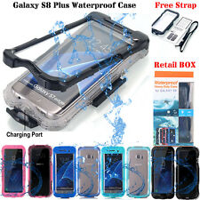 Shockproof Waterproof Dirt Proof Case Cover for Samsung Galaxy S7 Edge/ S8/ S8+