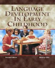 Language Development in Early Childhood (2nd Edition)