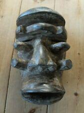 More details for ivory coast guere wood tribal war mask