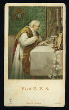 santino cromo-holy card S.LEGA n.9256 S.PIO X PAPA