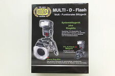 Bilora Multi D Flash Ringblitz 123-N für Nikon Digital Neuware