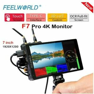 FEELWORLD F7 PRO 4K 7inch Video Monitor 3D LUT Touch Screen Camera Field Monitor