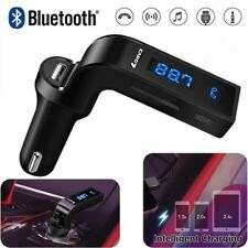Carg7 Bluetooth FM Transmitter AUX USB CAR Charger Kit Handsfree MP3 Adapter
