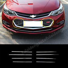 For Chevrolet Cruze 2017 2018 Interior Front Bumper Car Grille Decorative Stripe