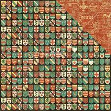 botánico Tea Collection doble cara Gráfico 45 2 Hojas campos de flor