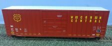 LBF Company, 50' High Cube, Plug Door Box Car, Wisconsin Central Livery, Boxed.