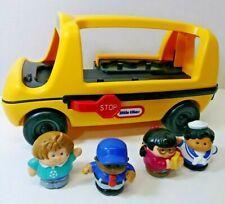 Little Tikes School Bus Toddle Tots Vintage figures