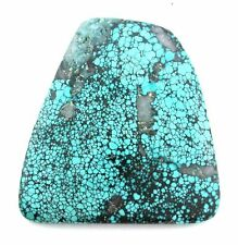 181.65 Carat Blue Spiderweb Turquoise Gemstone Cabochon Cab Gem Stone TA109