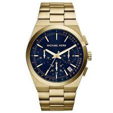 Relojes de pulsera Blue de oro de acero inoxidable
