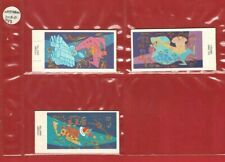 3 x PEEL & REVEAL CHARACTERS Doubles - WEETABIX - 1987 CEREAL TRADE CARDS (RM18)