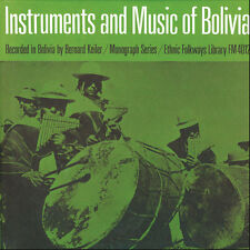 Instruments & Music Of Indians Of Bolivia (2009, CD NEU) CD-R