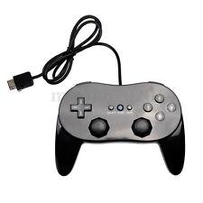 Noir Manette Classique Controller Contrôleur REMOTE PRO Pr Nintendo Wii Neuf
