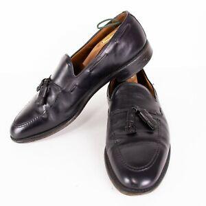 Allen Edmonds Grayson Mens 11.5 D Black Calfskin Tassel Loafers 8217 Shoes