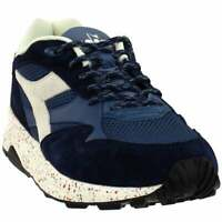 Diadora Eclipse Premium Sneakers Casual    - Blue - Mens