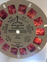 View Master Reels Winnie The Pooh The Blustery Day Disney 1979 Vintage VM54