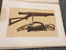 Lord Raglan's Telescope & Russian Bugle from Sebastopol 12 X 16 Antique Print