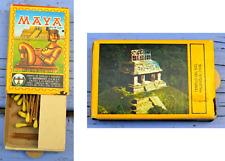 Boîte d'allumettes à tirette Maya templo del sol, Mexique