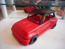 ECO Jouets Renault 5 GT Turbo in Red on about 1:18