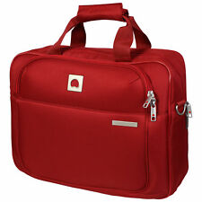 Delsey Tote Reporter Laptop Notebook Shoulder Carry Bag Case Travel Luggage Red
