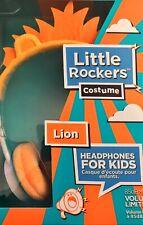 Ifrogz Little Rockers Costume Lion Headphones, Volume Limiting