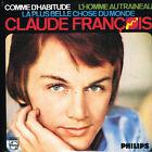 CD single: Claude François: comme d'habitude + 2. ltd ed: N°734. universal. D1