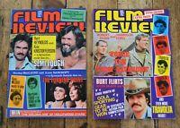 2 x Film Review Magazine June & December 1978 Harrison Ford Burt Reynolds