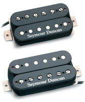 Seymour Duncan Hot Rodded Humbucker Set - black SH-2n Jazz / SH-4 JB