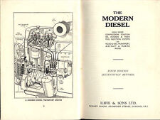 DIESEL OIL ENGINES HIGH SPEED RAIL AIRCRAFT MARINE FUEL INJECTION 1939 WW2