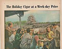 1947 Cinco Cigars Vintage Print Ad The Holiday Cigar At A Weekday Price