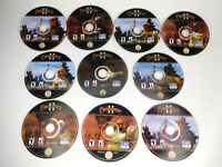 Sony Everquest II PC Video Game 10 Disc Set Discs Only