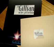 'TO GILLIAN ON HER 37th BIRTHDAY' Press Kit + 8 Photos, Souvenir Program - Mint!