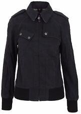 BELSTAFF Damen Jacke Women Jacket ALYN BLOUSON LADY BLACK Größe 36 S TECNOCOTTON