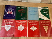piano method books Lot Of 8 John Thompson's