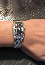 Bedat & Co. No.3 Diamond Bezel Stainless Steel $9,000.00 ladies watch.