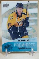 Ryan Ellis Rookie RC 2011-12 UD Upper Deck Ice Premieres /1999 Nashville