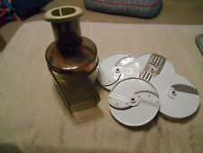 Vintage Oster Kitchen Center Food Processor and 4 blades- Replacement piece