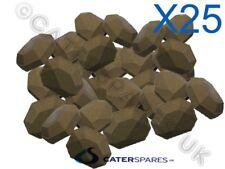 25 X Gas Chargrill Cerámica briquete resistente de larga duración Garland Archway Etc