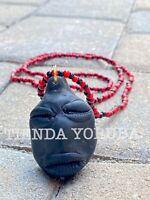 Eleke Collar de Elegua Eleggua Yoruba Santeria Ifa ⚫️🔴⚫️🔴⚫️ Orisha AMULETO