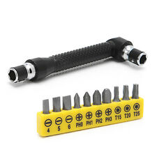 10 in 1 Socket Screwdriver Bit Set Precision L-shaped Angle Head Repair Tool Set